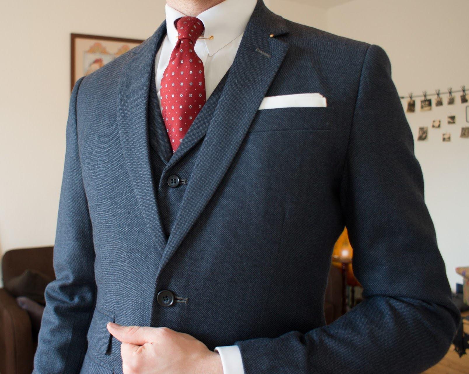 145859b7cd97 Der dunkelblaue Anzug – warum kein Schwarz  - Vintagebursche