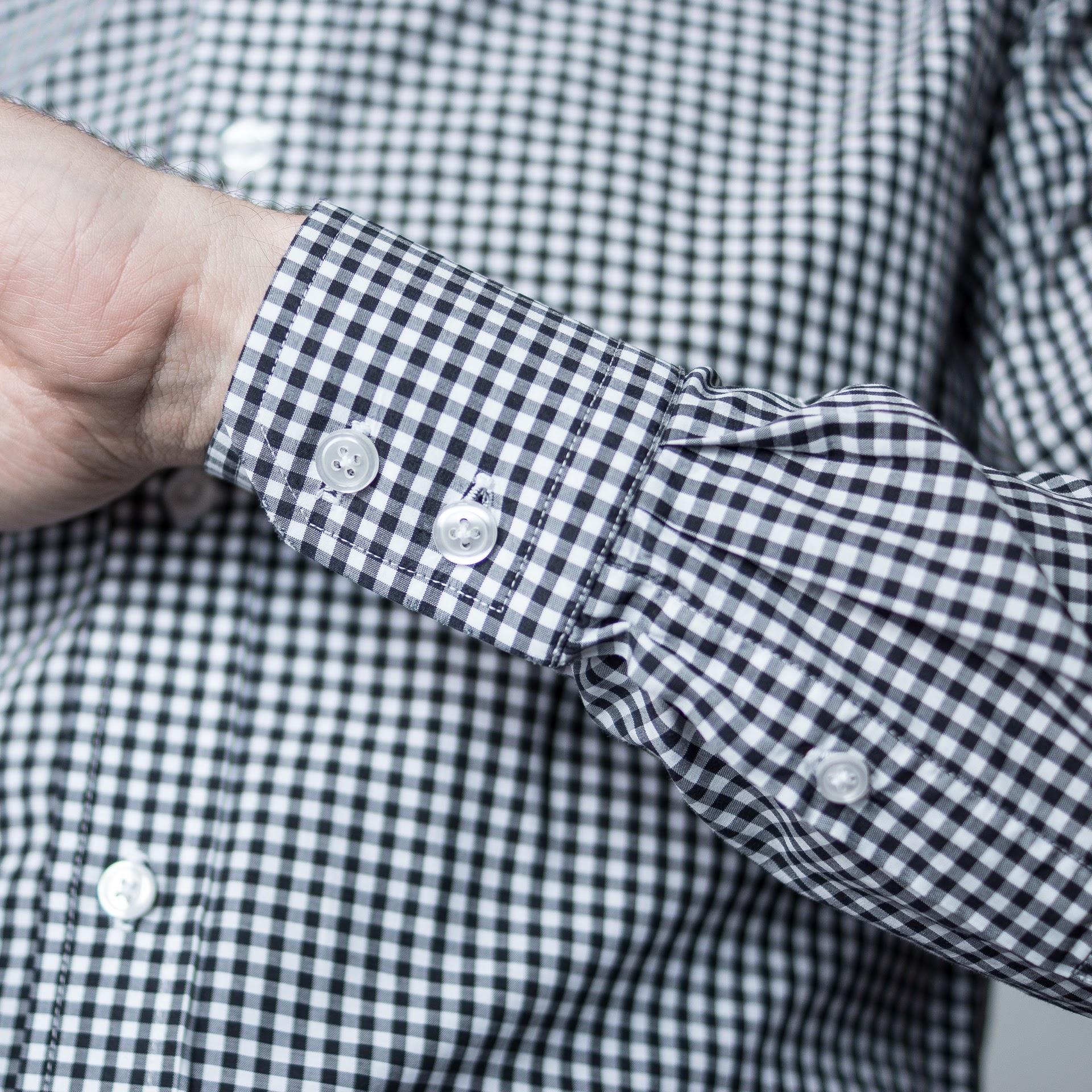 Normales hemd an manschettenknöpfe Was sind