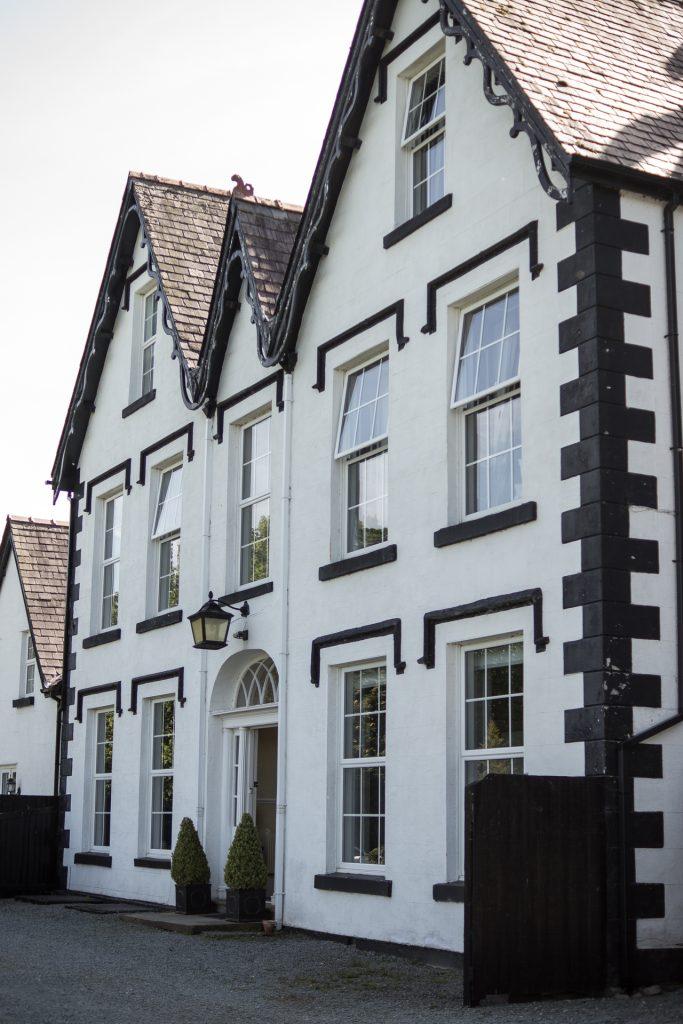 Unser Hotel Coed Mawr Hall