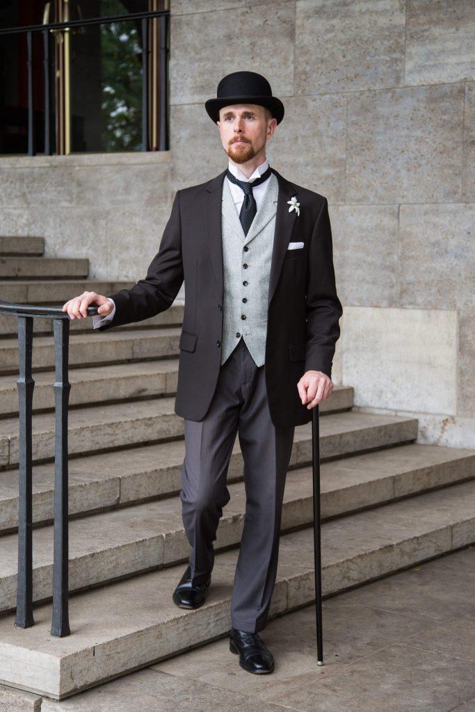 Vintage Hochzeit Welchen Anzug Tragt Der Brautigam Vintagebursche
