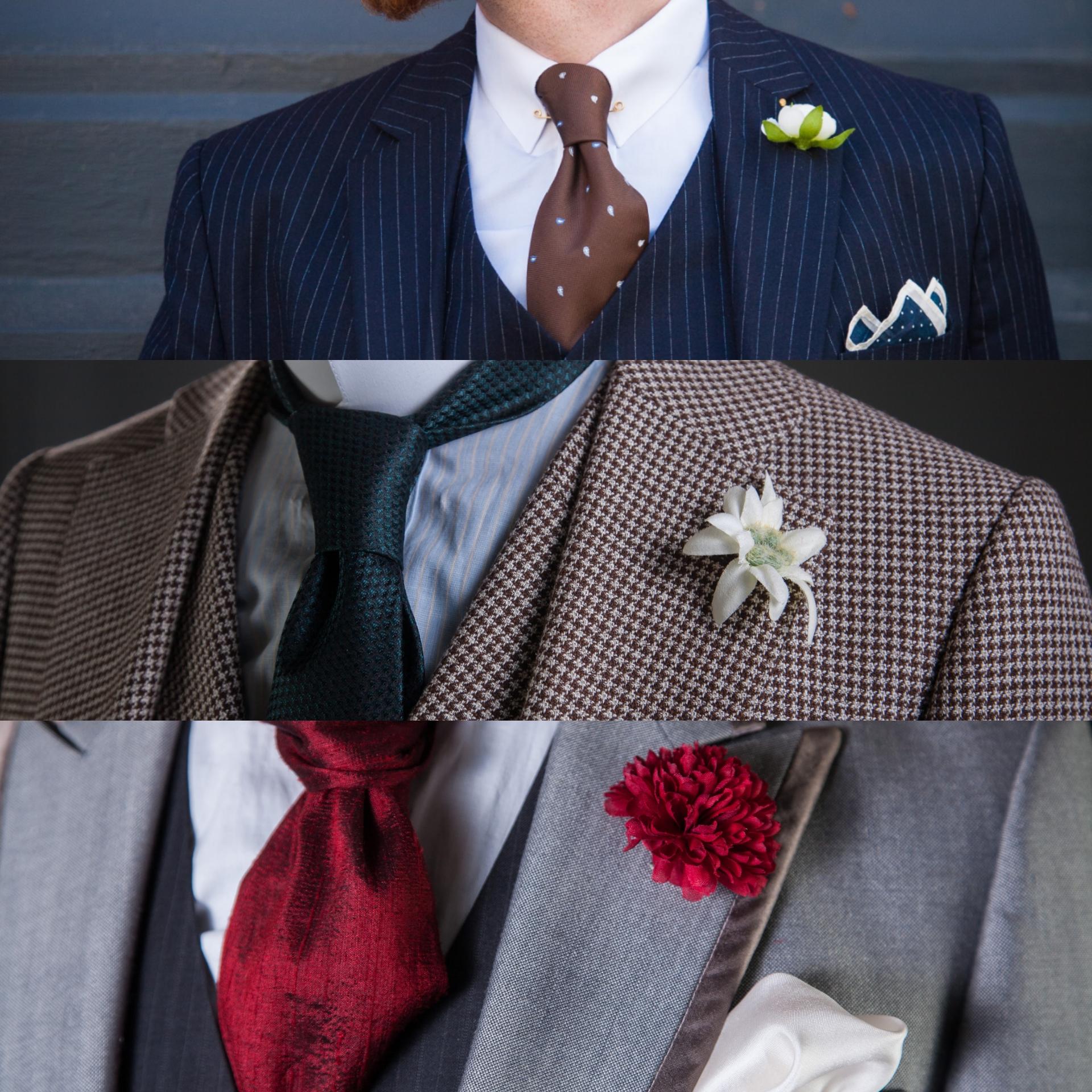 Boutonniere Die Ansteckblume Zum Anzug Vintagebursche